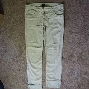 Light Khaki Cream H&M Pants 32